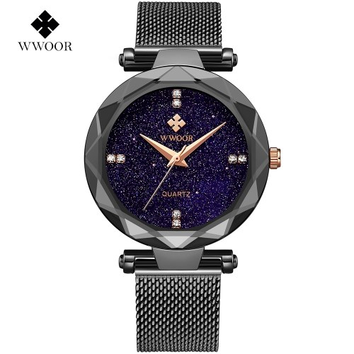 WWOOR Women Dress Relógios Sports Watch para as Mulheres