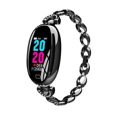 E68 Умный браслет 0,96-дюймовый IPS Красочный экран Женские умные часы