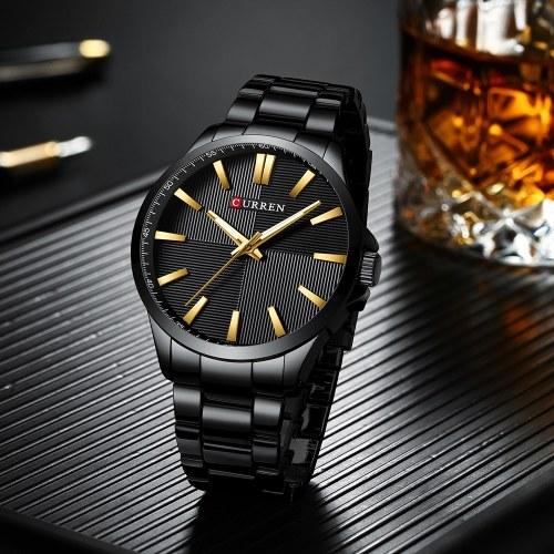 CURREN 8322 Man Watch Man Спортивные часы Man Водонепроницаемые наручные часы на открытом воздухе Man Watch Man Кварцевые часы Business Watch Мужские часы для мужчин фото