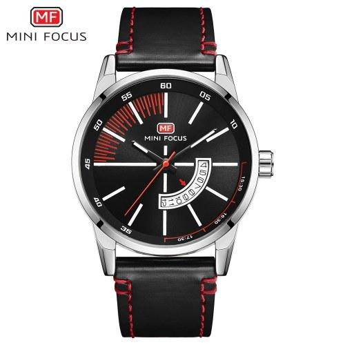 MINI FOCUS MF0132G Man Quartz Watch Calendar