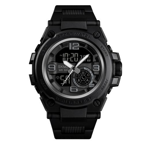 SKMEI 1517 Multifuncional 5ATM Smartwatch dos homens à prova d'água