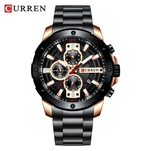 CURREN 8336 Man Quartz Wristwatch