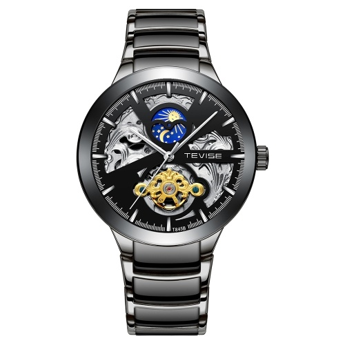Orologio meccanico da uomo d'affari TEVISE T845B