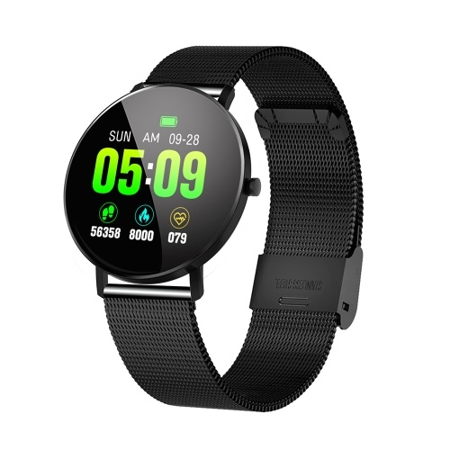 F25 Smart Bracelet with Steel Strap Band for Android4.4 iOS9.0 and above