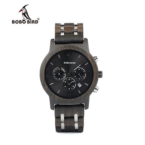 BOBOBIRD P19-1メンズクォーツ時計