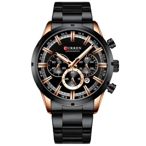 CURREN 8355 orologio da uomo al quarzo classico di lusso