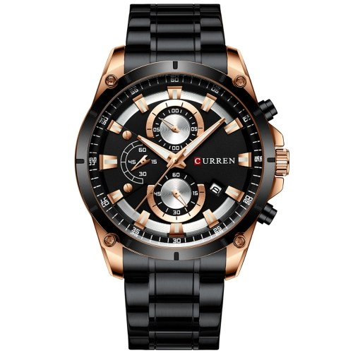 CURREN 8360 Luxury Business Classic Quartz Men Watch