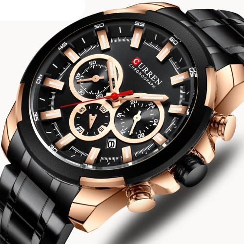 CURREN 8361 Quartz Man Wristwatch
