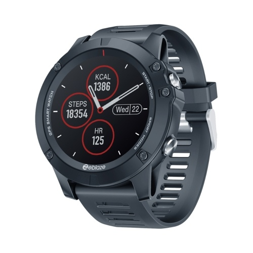 Zeblaze VIBE 3GPS 1.3-Inches IPS Color Touchscreen Multisport GPS Smartwatch