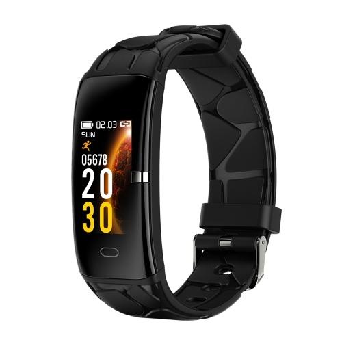 Bracelet intelligent pour hommes Femmes Fréquence cardiaque Pression artérielle Surveillance de l'oxygène sanguin Sommeil sécurisé Mode multisports IP67 Montres intelligentes de remise en forme étanches compatibles avec Android / iOS