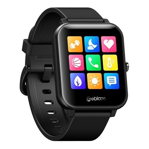 Zeblaze GTS Reloj inteligente con rastreador de ejercicios portátil con pantalla táctil HD de 1.54 pulgadas para llamadas telefónicas