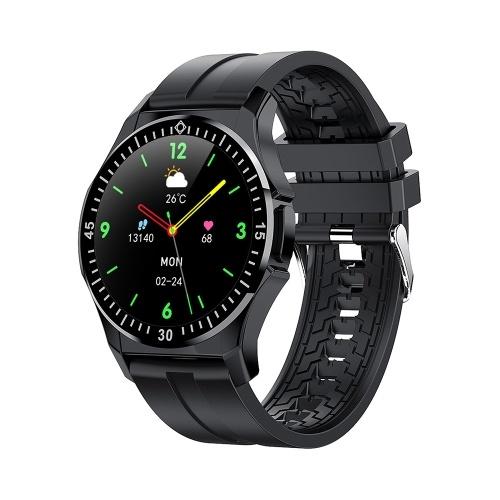 TW6 1,3-дюймовый сенсорный смарт-часы IP67 Водонепроницаемый фитнес-трекер Спортивный браслет