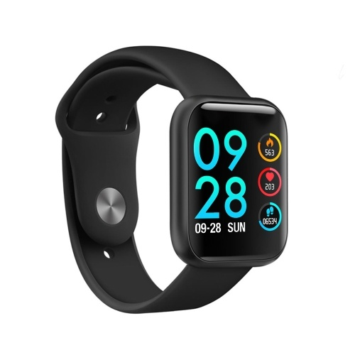 1.3'' Touch Smart Watch with Steel and Replaceable TPU Band Heart Rate Blood Pressure Detecting Multi-Sport Mode Scientific Sleep IP67 Waterproof Fitness Tracker Smartwatches Sports Wristband for Men Women