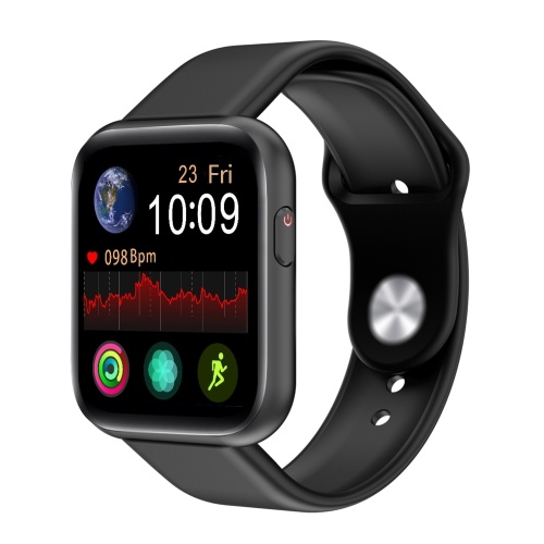 1.54-inch Full Touchscreen Smart Watch Heart Rate Blood Pressure Blood Oxygen Health Monitor Multi-Sport Mode BT Call Music Bracelet Smartwatches for Men Women Compatible with Android/ iOS