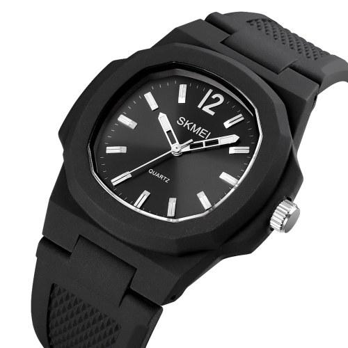 SKMEI мужские кварцевые часы краткие мужские наручные часы с точным временем 5ATM водостойкие спортивные часы мужские модные браслеты бизнес-часы