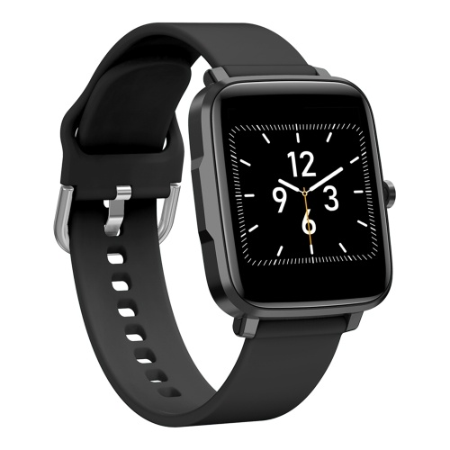 1.54 Inch Smart Watch Fitness Tracker with Temperature & Blood Pressure Monitor Ultra-light IP68 Waterproof Sport Watch with Multiple Sport Modes Calorie Counter Periods Tracker Full Touch Screen Watch with Silicone Strap