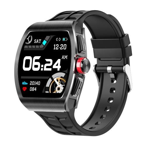 Умные часы TK18 с диагональю 1,4 дюйма, крутой механический циферблат, умный браслет