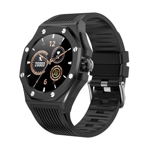F9 1,3-дюймовый сенсорный экран Smart Watch Мужской Фитнес Спортивные наручные часы Роскошный смарт-браслет