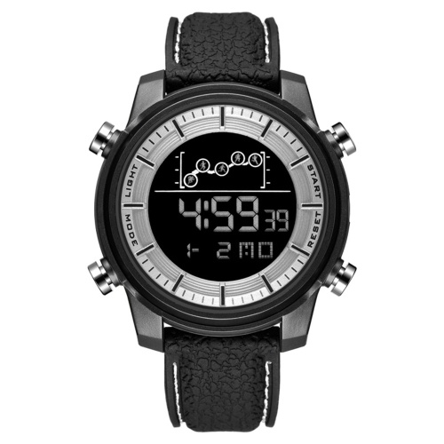 SMAEL SL-1556 Multifunction Unisex Watch Stylish Simple Digital Electronic Watch for Men Women 50M Waterproof Outdoor Sport Wristwatch with Alarm/Week/Date/Chronograph/Cold Light Display
