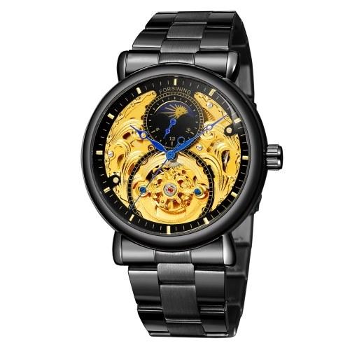 T-winner Men's Automatic Mechanical Watch 3ATM Waterproof Fashion Wristwatches