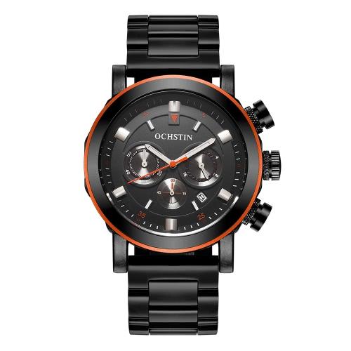 OCHSTIN Moda relógio de aço inoxidável homens
