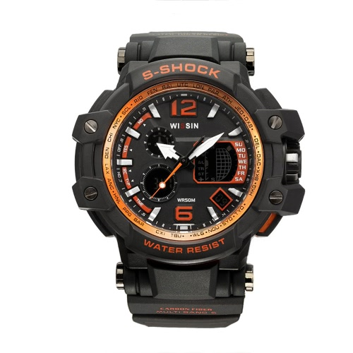 Wissin Shockproof 5ATM Water-resistant Watch Men Sport Watches