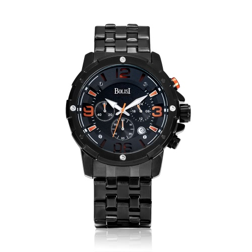 Bolisi Fashion Casual Quarzuhr 3ATM wasserdicht Uhr