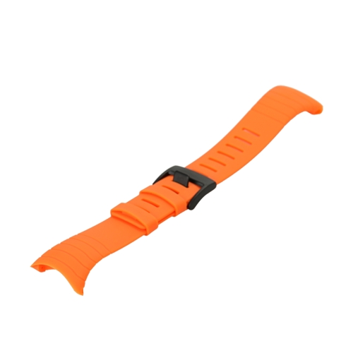 Outdoor Waterproof Rubber Watch Band Men's Watch-strap Steel Buckle with Screwdriver for Suunto core