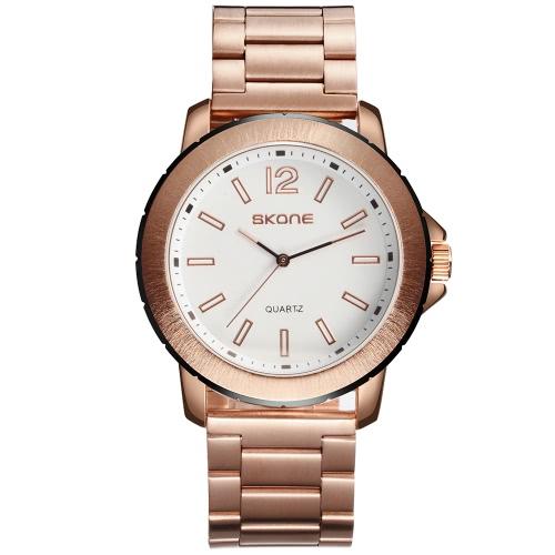 Reloj de la manera de la manera de SKONE 3ATM hombres resistentes del reloj del cuarzo hombres Relojes de pulsera