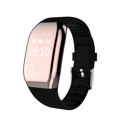 "0.66 ""OLED a prueba de agua BT4.0 Smart Band Touch Screen Smart Bracelet Fitness Tracker Podómetro de ritmo cardíaco Sleep Monitor para iOS 7.1 y Android 4.4 o superior"