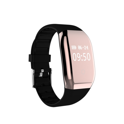 """0.66"""" OLED Water-Proof BT4.0 Smart Wrist Band Touch Screen Smart Bracelet Fitness Tracker Heart Rate Pedometer Sleep Monitor for IOS 7.1 & Android 4.4 or Above"""