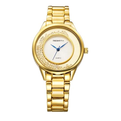 REBIRTH Fashion Casual Quartz Watch Life Water-resistant Watch Women Relógios de pulso Feminino