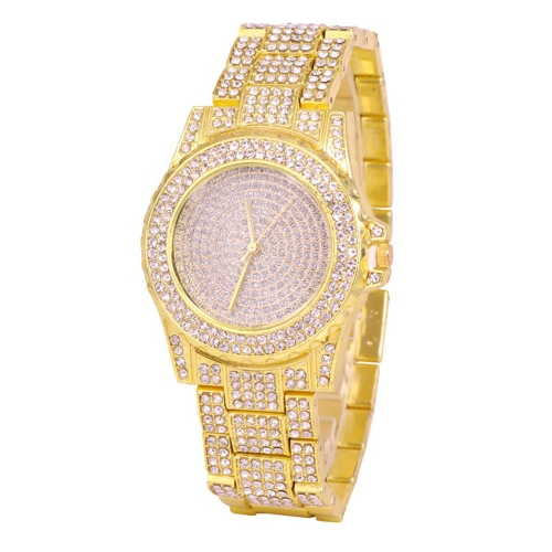 Relógios de luxo de luxo em aço inoxidável