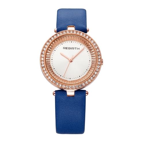 ODRODZENIE Fashion Luxury Women Watches 1ATM Wodoodporny zegarek kwarcowy Casual Simple Woman Relogio Feminino