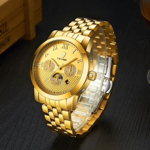 TEVISE Fashion Business Automatic Men Watches