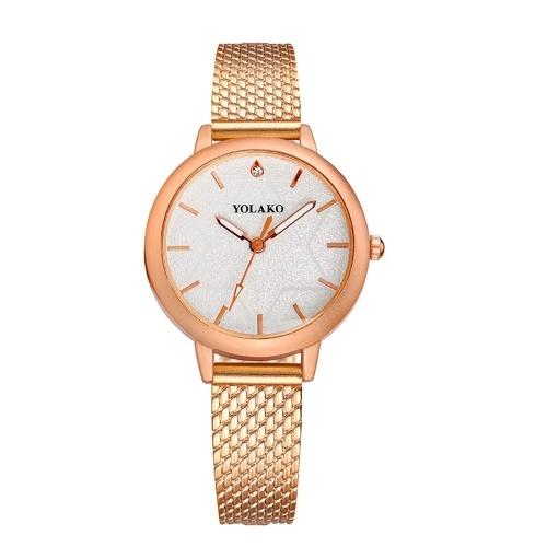 Relógio de quartzo mulheres pu pulseira de couro relógio de pulso casual feminino relógio