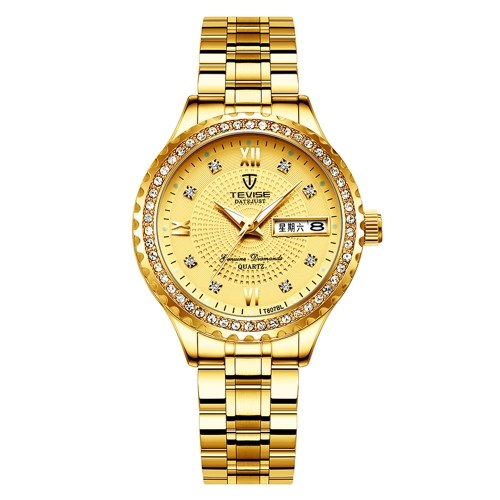 TEVISE T807BL Woman Quartz Watch
