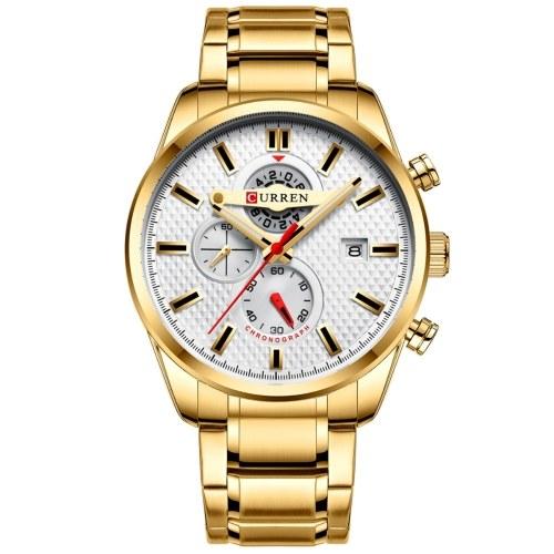 CURREN 8352 Quartz Man Wristwatch