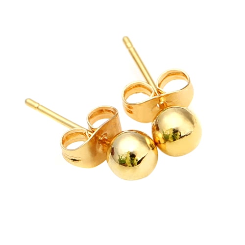 healing crystals peridot products gold stud earrings plated atperrys