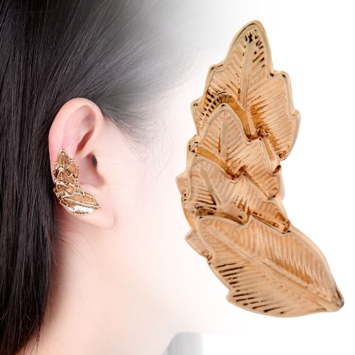 Punk Wing Alloy Earring Clip for Women Fashion Jewelry