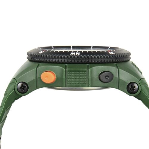 Image de SYNOKE Cool numérique résistant à l'eau de sport montre-bracelet pour hommes deuxième fuseau horaire temps affichage
