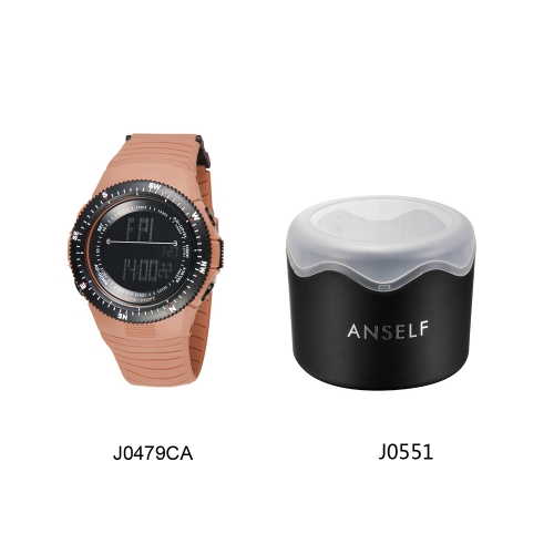 SYNOKE прохладно цифровые водонепроницаемые спортивные наручные часы для мужчин, женщин второй часовой пояс времени отображения верблюд фото