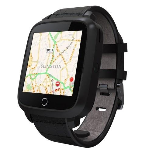 """Подержанные роскошные 3G смарт-часы-телефон RAM 1G + ROM 8G Android 5.1 OS Nano SIM-карта 1.54 """"ЖК-экран камеры 1,3 ГГц Четырехъядерный процессор Wi-Fi BT4.0 GPS Шагомер пульса SmartWatch для Android 4.3 и iPhone IOS 7.0"""