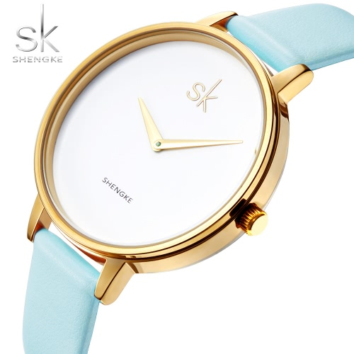 SK 2017 Ultra Thin Dial Fashion Quartz Women Wristwatch Water-Proof Modern Simplicity Ladies Dress Watch Feminio Relogio