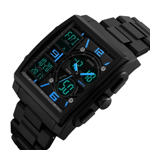 SKMEI 5ATM Water-resistant Watch Fashion Casual Digital Watch