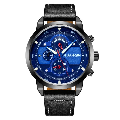 GUANQIN Quartz Men Watch
