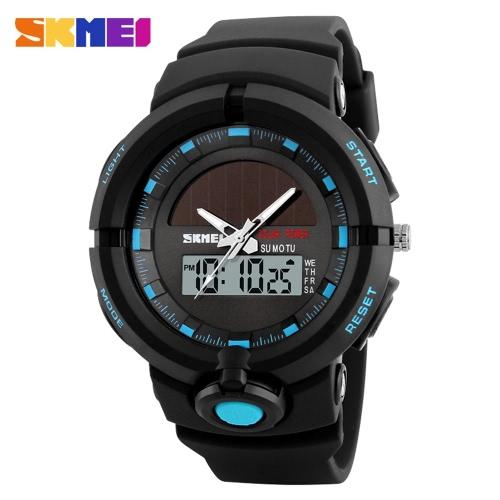 SKMEI 5ATM Relógio Digital Resistente à Água Homens Relógios Desportivos Reluzente Relógio de Pulso Relogio Musculino Masculino