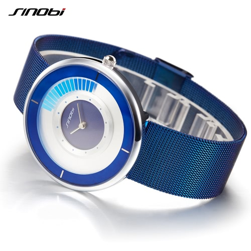 SINOBI Fashion Casual Watch 3ATM Water-resistant Quartz Watches Men Wriswatches Male