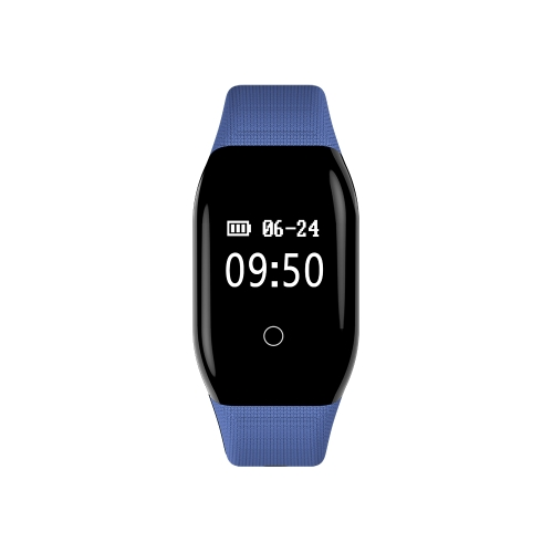Image of 0.66 OLED Wasserdicht BT4.0 Smart Armband Touchscreen Smart Armband Fitness Tracker Herzfrequenz Schrittzähler Schlaf-Monitor für iOS 7.1 und Android 4.4 oder höher