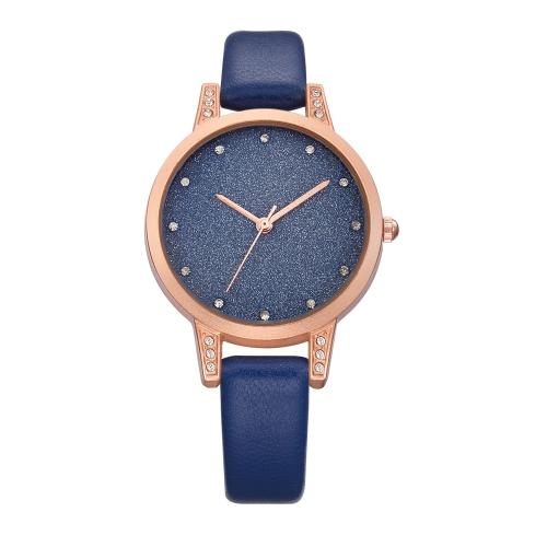 Reloj de cuarzo ocasional de la manera del REBIRTH 3ATM Reloj resistente al agua Relojes de pulsera Hembra